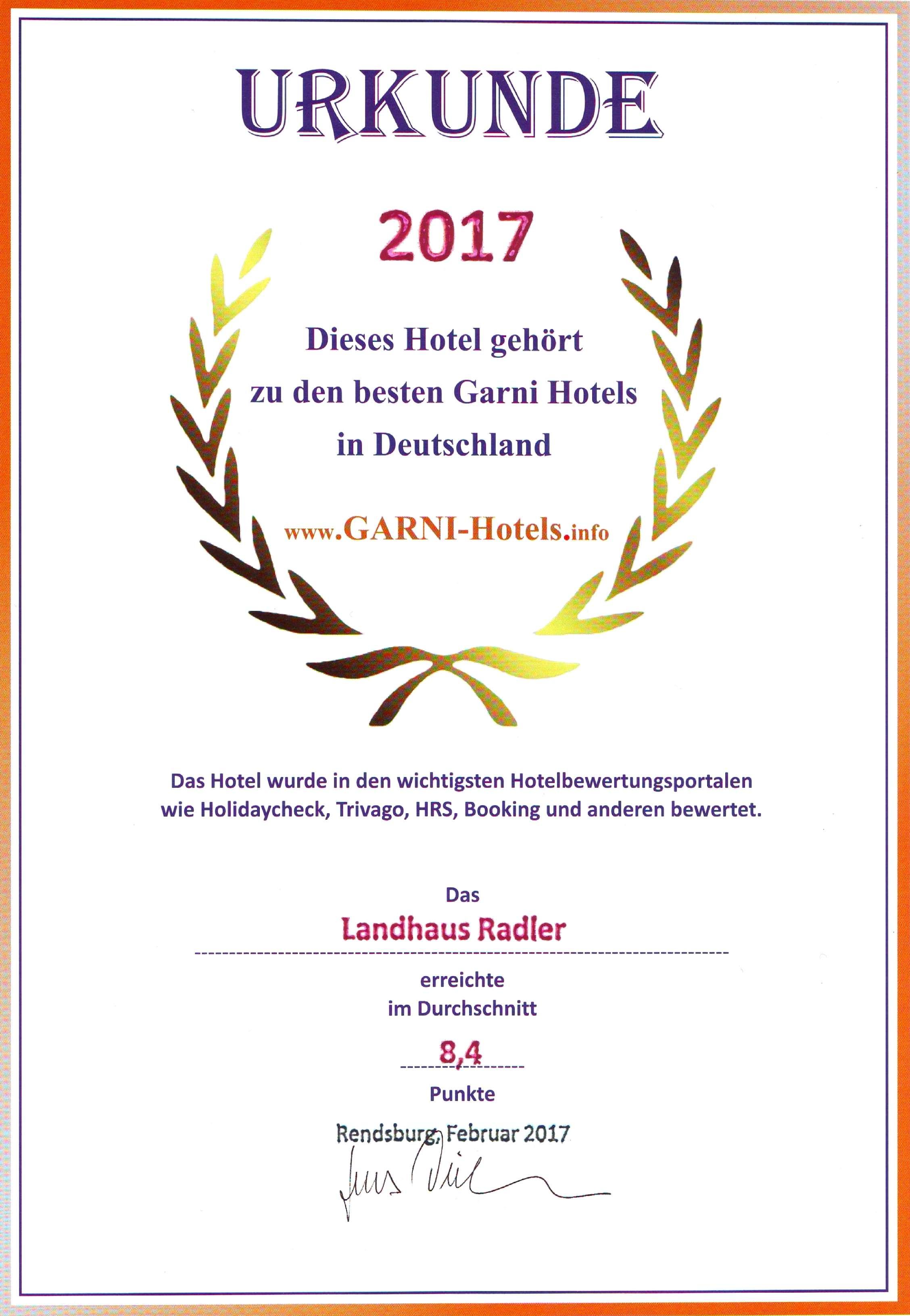 Hotel Garni Herz